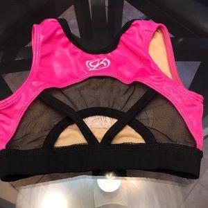 GK Shirts & Tops - GK Girls World Cup Twinkles Sports Bra